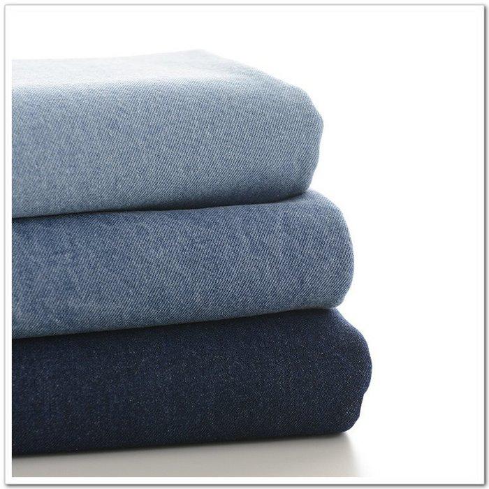布料 純棉布料 日本印花布料菊家 布料 面料 日單 牛仔布 純棉水洗加厚斜紋牛仔布料台北百貨