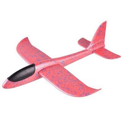 手拋特技滑翔飛機(大) 迴旋 模型 投擲 航模 禮物 手拋飛機 EPP飛機 保麗龍飛機 玩具 ❃彩虹小舖❃【P484】