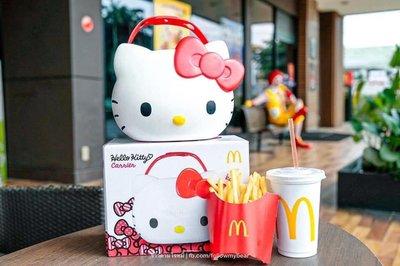 🎄現貨,可面交🎄 麥當勞 凱蒂貓 hello kitty 餐盒(可面交) 聖誕禮物 新年禮物
