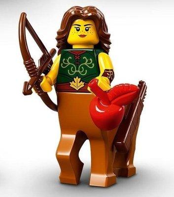 現貨 LEGO  樂高  71029 6號 樂高 第21代 人偶包 Centaur Warrior 人馬女戰士 公司貨