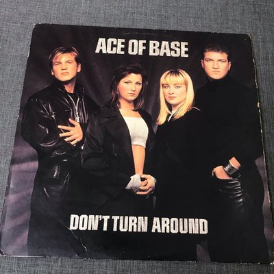 Ace Of Base – Don't Turn Around  單曲 黑膠