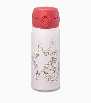 2014 星巴克STARBUCKS 聖誕節 限量 JNL耀眼繁星隨身瓶400ml 不鏽鋼隨行杯 膳魔師保溫瓶