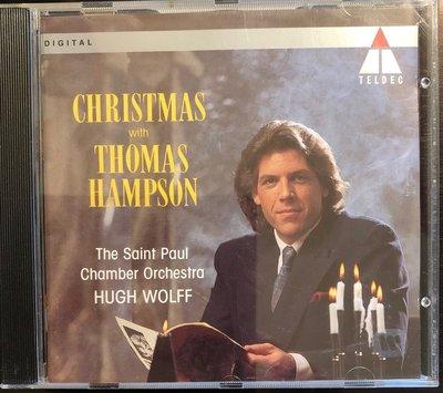 *愛樂熊貓聖誕樂'92德版(無IFPI)THOMAS HAMPSON橫跨4百年聖誕詠嘆CHRISTMAS CAROLS