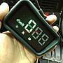 《艾斯國際》HUD GPS衛星定位專用簡易型行車時速抬頭顯示器 只要是車都能用