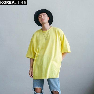 KOREALINE搖滾星球 / 圓領素面短T / 5色 / BS7910