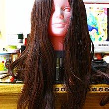 【R的雜貨舖】日本日系 酒紅 vivi日雜風 歐美風中分幹練帥氣假髮 05