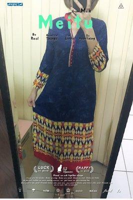 4. 印象畫派風庫塔 Designer's Kurta (庫緹 Kurti) 印度舞衣服飾 上衣 寶萊塢設計師款
