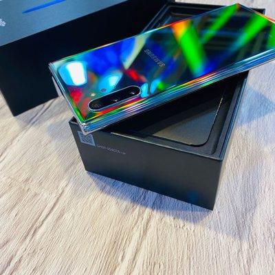 ?拆封新品 Samsung Note10+256G 銀色