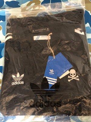 Mastermind japan X Adidas game shirt SIZE L 絕版