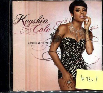 *真音樂* KEYSHIA COLE / A DIFFERENT 二手 K7101 (封面底破.CD有缺口不影響讀取)(大降價.下標賣3)