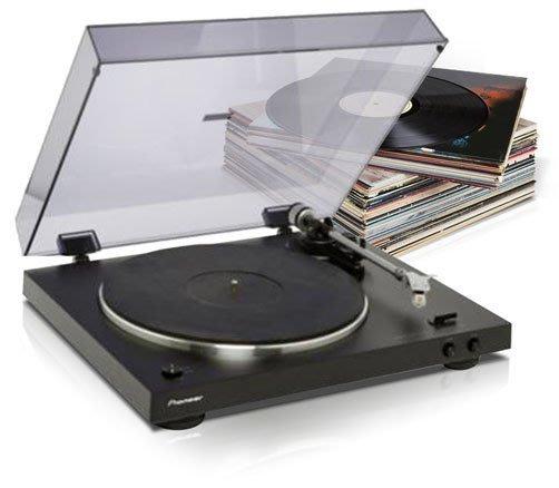 [台灣公司貨] 先鋒 Pioneer PL-30-K 立體聲黑膠唱盤 (內建唱頭放大器 PL30K保固一年)