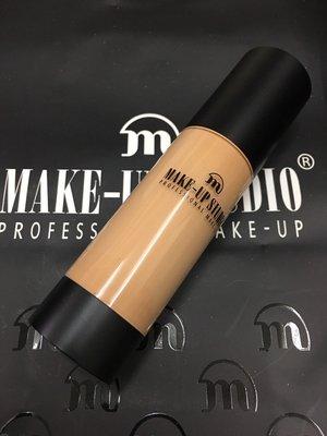 荷蘭彩妝make-up studio 持色防水粉底液35ml Pale Yellow 淡黃膚色 持久防水保濕