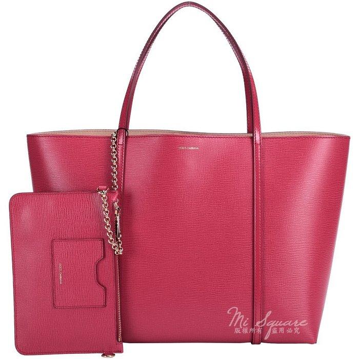 米蘭廣場 DOLCE & GABBANA ESCAPE 壓紋牛皮購物包(大/紅色) 1440706-54