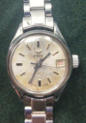OQ精品腕錶   瑞士自動上錬女錶機械錶壓克力鏡面不含龍頭22MM