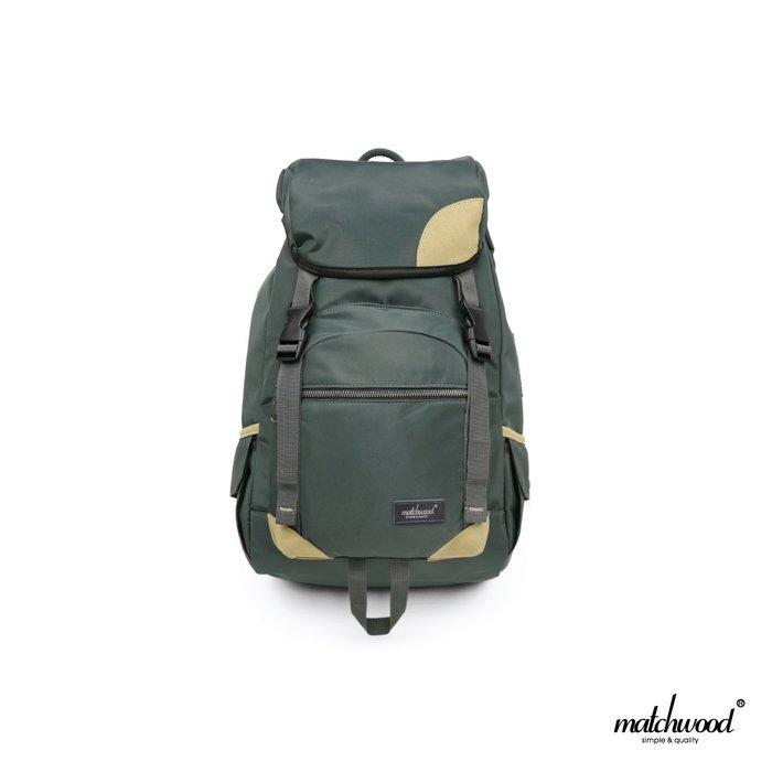【Matchwood直營】Matchwood Apollo 後背包 內有3C筆電專屬夾層 石墨綠款 大容量 開學限時優惠