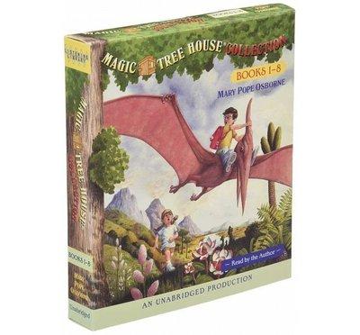 神奇樹屋英語讀本+CD Magic Tree House(原文英文書+CD) 1-24 (8本一小組合) 下單為8本