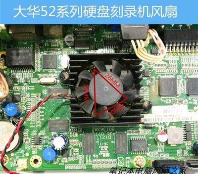 筆記本散熱器 大華硬盤錄像機 主板風扇 大華散熱器 大華風扇 5216 5832CPU風扇 哆啦A夢的手提袋