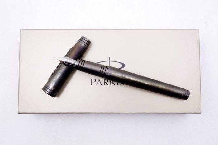 【台中青蘋果】派克鋼筆 Parker 尊爵黑武士鋼筆 2680791657003 二手 鋼筆 #14596