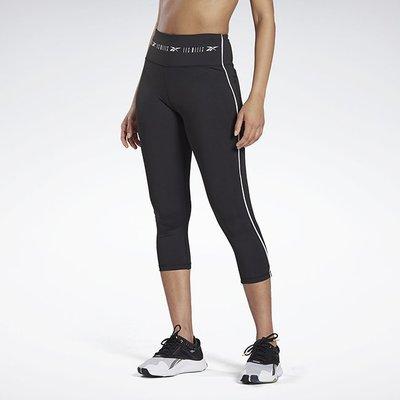 南◇2020 9月 Reebok LM High Rise 3/4 緊身褲 女 GE1006 黑色 束褲 瑜珈訓練慢跑
