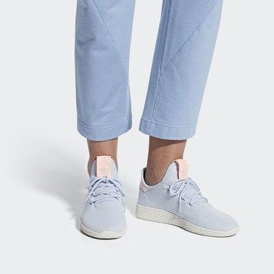# Adidas Originals 女鞋 X PHARRELL PW 運動鞋 編織 藍白 休閒 B41884 YTS
