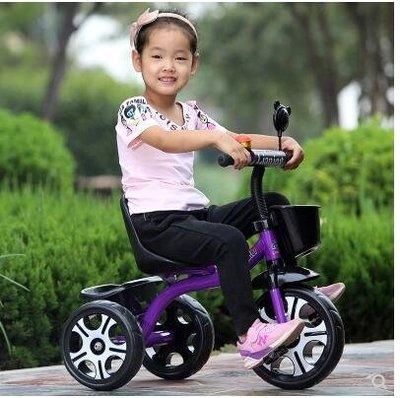 兒童三輪車/腳踏車/小孩手推自行車/男女寶寶玩具單車1-3-6歲童車CY