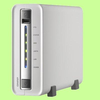 5Cgo【權宇】QNAP TS-112P  QTS 4.0 作業系統為一功能強大且操作簡單的網路儲存設備 含稅會員扣5%