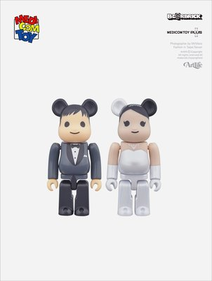 ArtLife @ MEDICOM PLUS BE@RBRICK グリーティング 結婚 PLUS 1