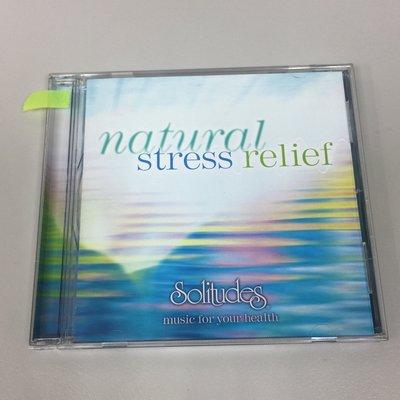 【舊世主】【二手專輯CD】Solitudes Natural Stress Relief /*119元起標*/