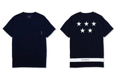 17ss Uniform Experiment 5 STAR POCKET TEE 含運 ue