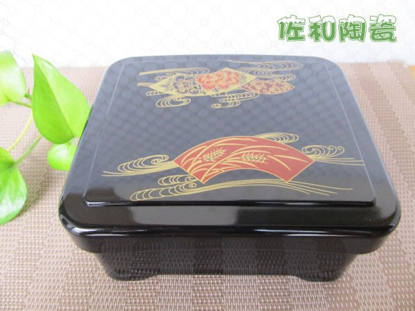 ~佐和陶瓷餐具~【38P1082-01 FB-616鰻飯盒】鰻魚飯/丼飯/定食/日式料理