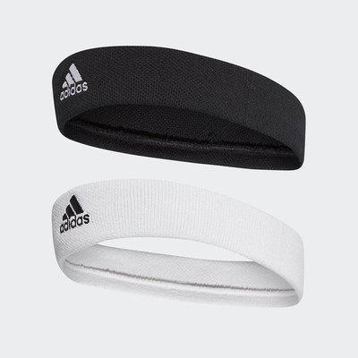 ADIDAS 男女款 網球頭帶 運動頭帶 籃球頭帶 Tennis Headband系列 CF6926/CF6925