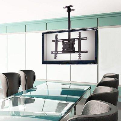 【小如的店】好市多線上代購~美國布朗熊 US Brown Bear 吊頂式電視壁掛架CM1-70T(適32-70吋螢幕)