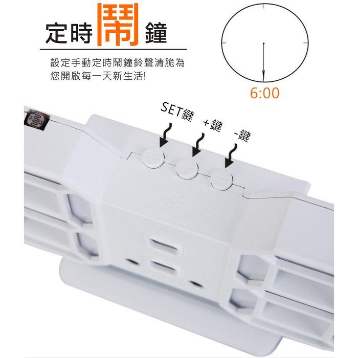 【溫度/鬧鐘/萬年曆】 3D立體 LED數位鬧鈴時鐘 科技電子鐘 電子鬧鐘 掛鐘