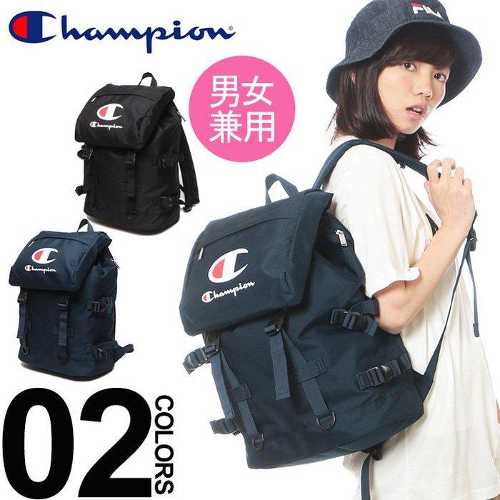Champion 後背包 書包 大logo 日本人氣 金屬拉片♡LUCI日本代購♡空運[ ]