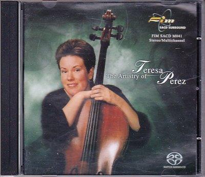 音樂居士*The Artistry of Teresa Perez Crossover Cello 醇香大提琴*CD專輯