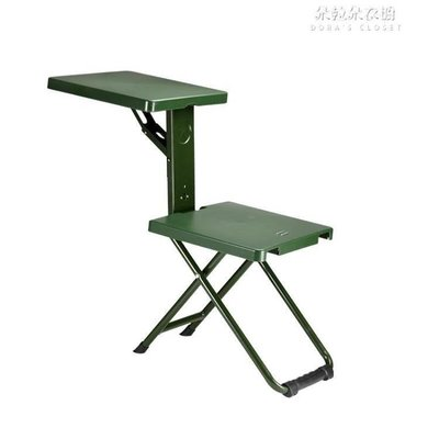 ZIHOPE 部隊折疊椅子便攜戶外折疊凳士兵折疊椅馬扎折疊便攜折疊凳ZI812