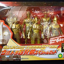 Ultraman series 50th Anniversary Ultra 6 brothers special set 放送開始50年記念