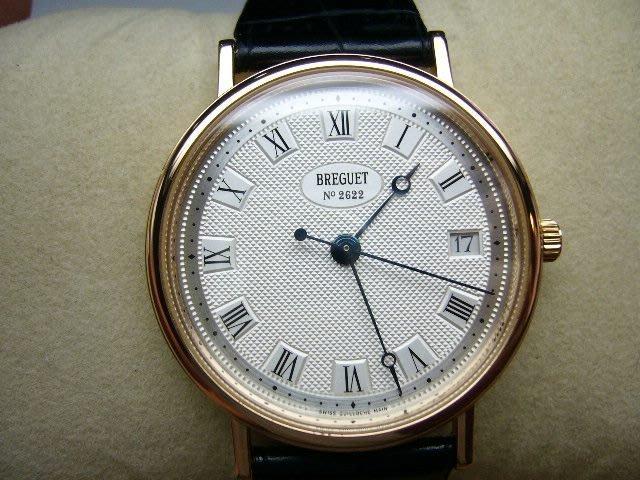 [吉宏精品交流中心]BREGUET 寶璣 5910 18K玫瑰金 自動機械 皮帶 男錶(盒單齊全)