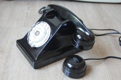 法國 U43 轉盤式電話 撥盤電話 古董