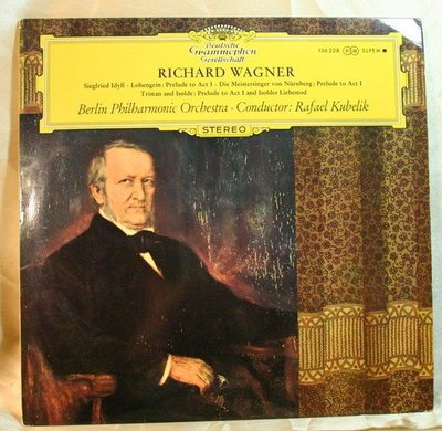 ***黑膠唱片 Kubelik - Wagner : Siegfried Idyll & Preludes  (美DG大花版)