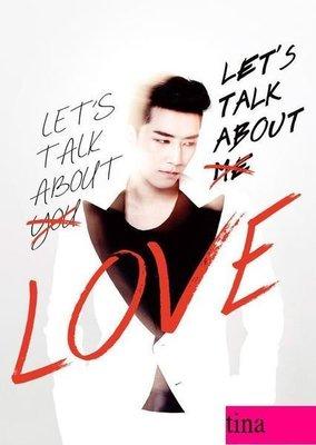 勝利韓版專輯Seung Ri Mini Album Vol. 2 - Let's Talk About Love(Red & White