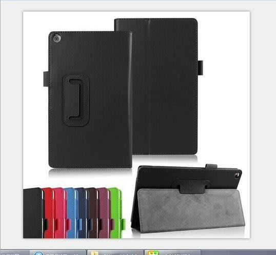 現貨華碩Asus Zenpad7.0 Z170平板電腦保護套 荔枝紋二折支架皮套456