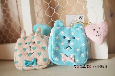 ˙TOMATO生活雜鋪˙日本進口雜貨專門店限定CRAFTHOLIC愛心星星熊愛心兔子口袋吊飾
