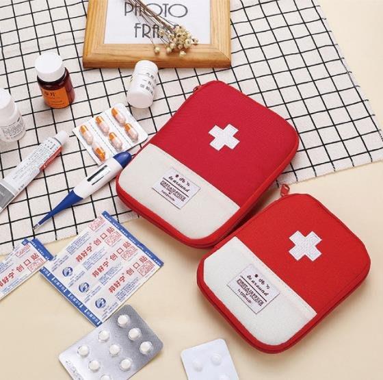 客製化 旅行醫藥包(小號) 旅行收納袋 藥品袋(LOGO) 禮贈品 環保袋 急救包 醫藥包【S330003】塔克玩具