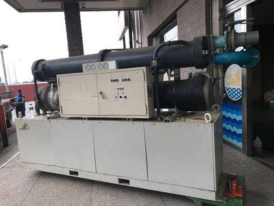 中古.二手 120噸水冷冰水機 冷卻機 適於空調 工業製程冷卻 冷氣.熱水熱泵