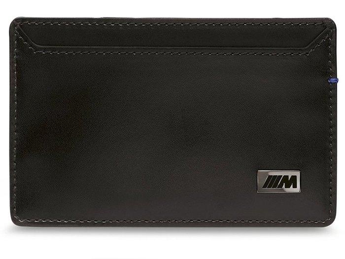 【樂駒】BMW M card case M款 ///M 原廠 生活 精品 男士 男用 名片夾 信用卡夾 碳纖維