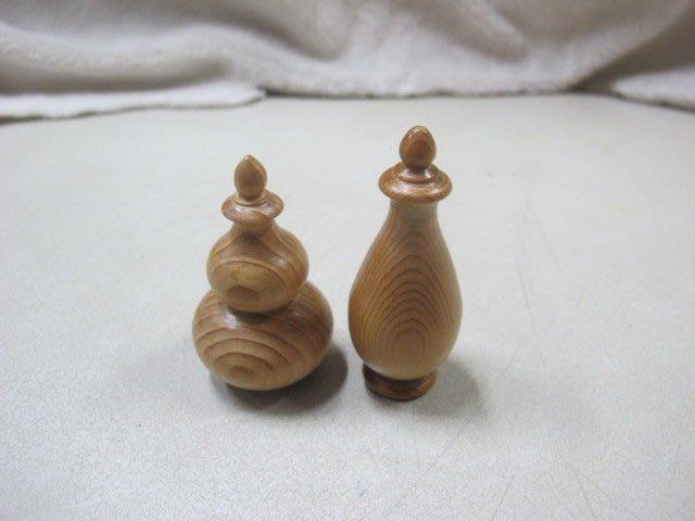 二手舖 NO.795 香杉原木雕葫蘆 聞香瓶 擺飾 收藏 吊飾 雕件