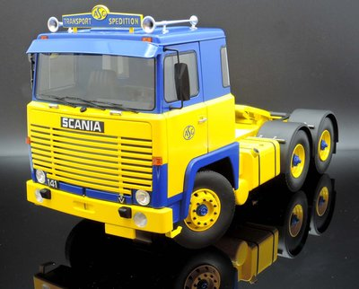 【M.A.S.H】現貨特價Road Kings 1/18 Scania LBT 141 ASG Tractor 1976