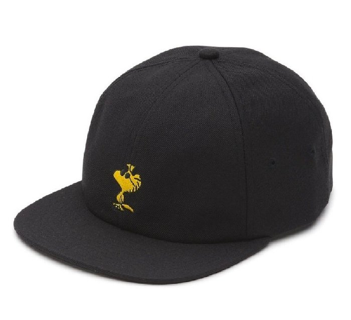 { POISON } VANS x PEANUTS JOCKEY HAT WOODSTOCK 刺繡老帽 後扣棒球帽