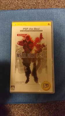 PSP遊戲片 潛龍諜影 日文版